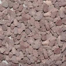 Галька полуокатанная розовая (4-6мм) (2кг)