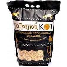 Золотой кот кукурузный наполнитель для грызунов 4л