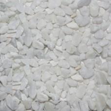 Галька полуокатанная белая 4-6мм (2кг)