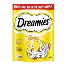 Dreamies 140г лакомство для кошек с сыром