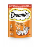 Dreamies лакомство для кошек с курицей 140г