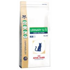 Royal Canin Urinary S/O High Dilution 34 корм для кошек при заболеваниях дистального отдела мочевыделительной системы 400гр