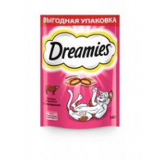 Dreamies лакомство для кошек с говядиной 140г