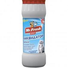 Гигиеническое средство Mr. Fresh Ликвидатор запаха для кошачьих туалетов ( подходит для собачьих латков)