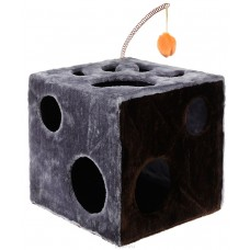 """ЗооМарк Домик """"Кубик с лапкой""""+игр.мех 40*40*40см"""