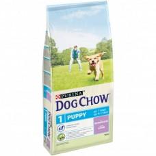 Dog Chow Puppy корм для щенков всех пород, с индейкой (14кг)