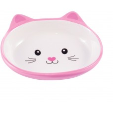 Керамикарт миска керамическая 160 мл мордочка кошки