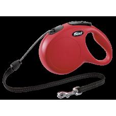 Flexi Рулетка CLASSIC M трос 8 м 20 кг; красный