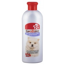 БиоВакс шампунь для белоснежных собака, отеночно белый 350мл