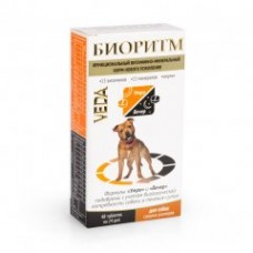 Veda БИОРИТМ функциональный витаминно-минеральный корм для собак среднихразмеров, 48 табл.