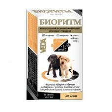 Veda БИОРИТМ функциональный витаминно-минеральный корм для щенков 48 табл.