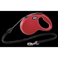 Flexi Рулетка CLASSIC S трос 8 м 12 кг; красный