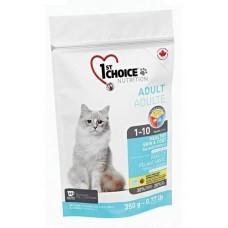 Cухой корм для кошек 1st Choice HEALTHY SKIN COAT Здоровая шерсть и кожа 350гр.
