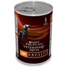 Purina Pro Plan Veterinary Diets OM Obesity Management консервы для собак при ожирении (400гр)