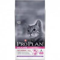 Pro Plan Delicate Корм сухой для кошек с чувствительным пищеварением, индейка/рис