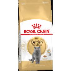 Royal Canin British Shorthair Adult корм для кошек британской короткошерстной породы старше 12 месяцев (2кг)