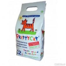 Pretty Cat Древесный 12 л Хвоя