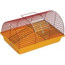Клетка для грызунов полукруглая (ж) 36х24х22 см