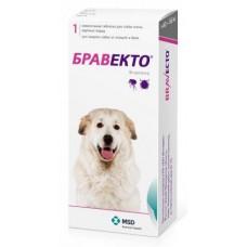 MSD Animal Health Бравекто таблетки для собак весом от 40 до 56 кг от блох и клещей, 1 шт.