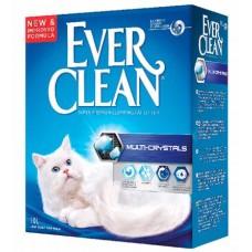 Ever Clean Наполнитель для кошачьего туалета Multi Crystals сиреневая полоска (10кг)