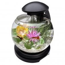 Аквариум Tetra Caskade Globe 6.8L круглый черный