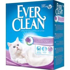 Ever Clean Lavender комкующийся наполнитель с ароматом лаванды (10кг)