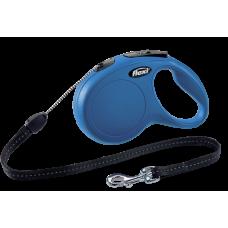 Flexi Рулетка CLASSIC S трос 8 м 12 кг; синий